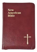 St Joseph NAB Personal Gift Bible Burgundy Zipped