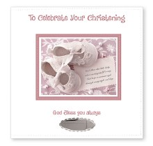Baby Girl Christening Photo Album