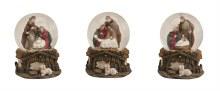 10018192 Holy family Snow Globe Scene