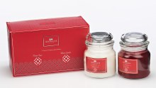 Luxury Set of Two Fragrance Candles