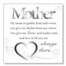 Mother Blessing Block Art Plaque