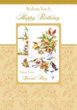 Open Birthday Card