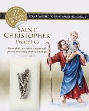 Luminous St Christopher Car Plaque