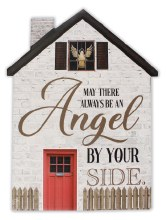 38240 Angel by Your Side Porcelain Plaque 20x 15