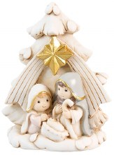 Holy Family (8cm) Christmas Decoration