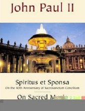 Spiritus et Sponsa and On Sacred Music