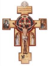 St Benedict Wood Cross (23cm)