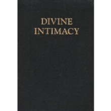 Divine Intimacy, black leather, flexible cover