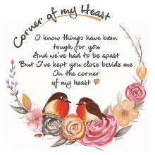 CHC004  Beside Me Corner of My Heart Robin Card