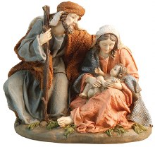 Nativity Set Resin, Holy Family