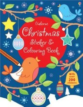 Usborne Christmas Sticker & Colouring Book