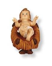 Baby Jesus in manger 10cm
