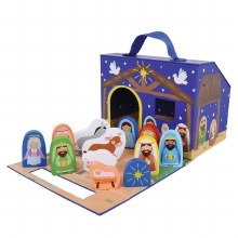Silent Night Foldaway Nativity