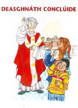 What Happens at Mass Laminate Card (Irish Version)