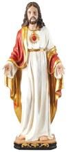 48640 Sacred Heart Fibre Glass Statue 100cm
