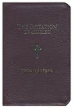 Imitation of Christ Zippered leather cover, gilt