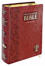New American Bible, Giant Type, Brown Imitation Leather