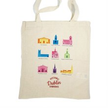 Irish Churches Cotton Standard  Tote bag