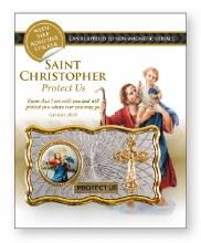 St Christopher Car Plaque