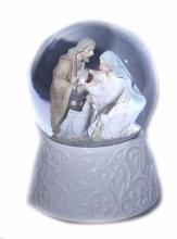 9635 nativity Porcelain Nativity Water Globe