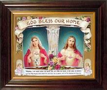 Framed House Blessing (25cm x 30cm)