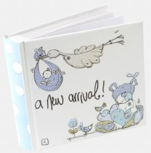 Baby Boy Stork Photo Album