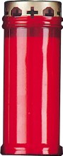 Red Memorial Candle