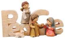 Peace Childrens Nativity Sign (7cm)