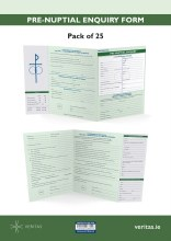 Pre Nuptial Enquiry Form (25 pack)
