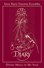 Divine Mercy in My Soul: burgundy leather
