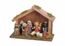Fixed Children's Nativity with Shelter