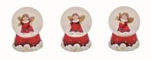 10014111 Christmas Angel Waterball assorted 6cm