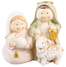 Holy Family Christmas Decoration (8cm)