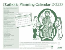 "2020 Catholic Planning Calendar (22"" x 17"")"