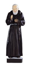 Large Padre Pio Statue Suitable for Outdoor Use (80cm)