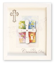 White Box My Christening Day Frame