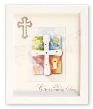White Box My Christening Day Frame