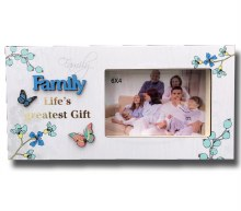 Family Blooms Photo Frame