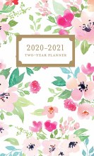 Happy Floral 2020 Two Year Pocket Planner
