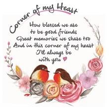 CHC005 Always With  Corner of My Heart Robin Card
