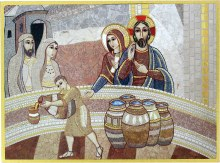 Wedding at Cana Mosaic