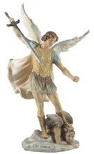 St Michael Veronese Statue