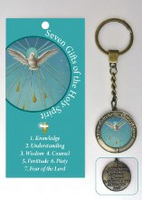 Confirmation Keyring with Leaflet