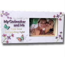 My Godmother and Me Blooms Photo Frame