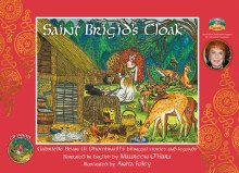 Saint Brigids Cloak Bilingual Stories and Legends