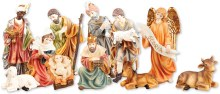Peace On Earth Nativity Set (20cm)