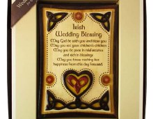 Wedding Blessing Plaque