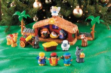 Fisher Price Little People Nativity Set for Children