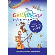 2018 Get Up and Go Diary for Boys, paperback