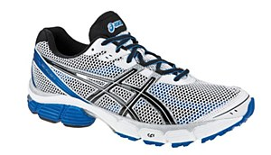 Asics Gel-Pulse 4 White/ Black/ Blue